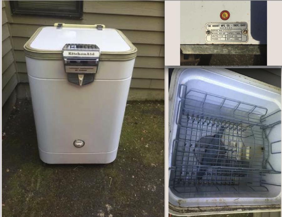 Kd 2p Hobart Kitchenaid Portable Dishwasher 150 Eugene