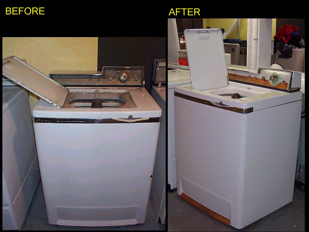 1957 Lady Kenmore Washer Before And After Restoration