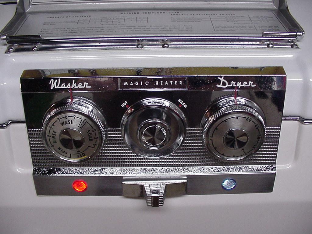 Fun Vintage Washing Machine Ephemera