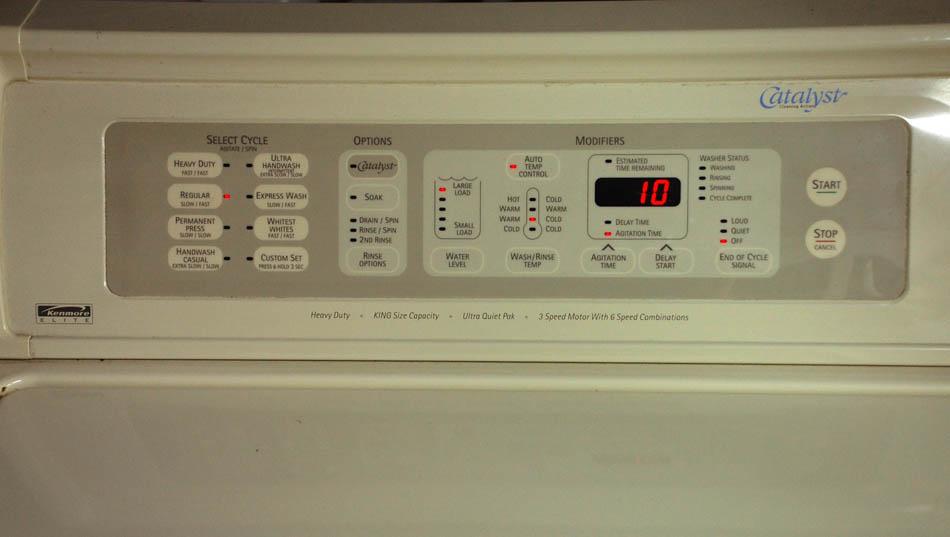 Kenmore elite catalyst washer repair manual.