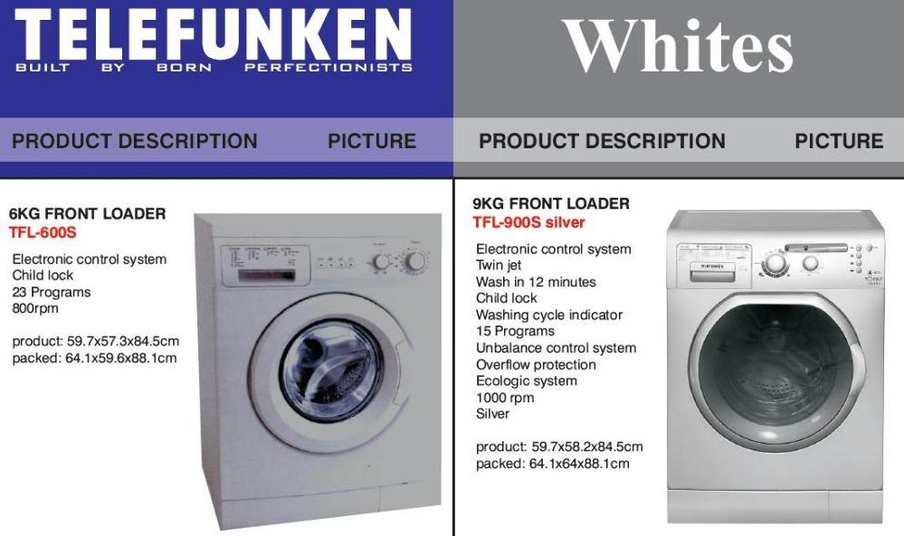 Telefunken washing machine