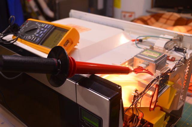 Repair Of A Panasonic Inverter Microwave