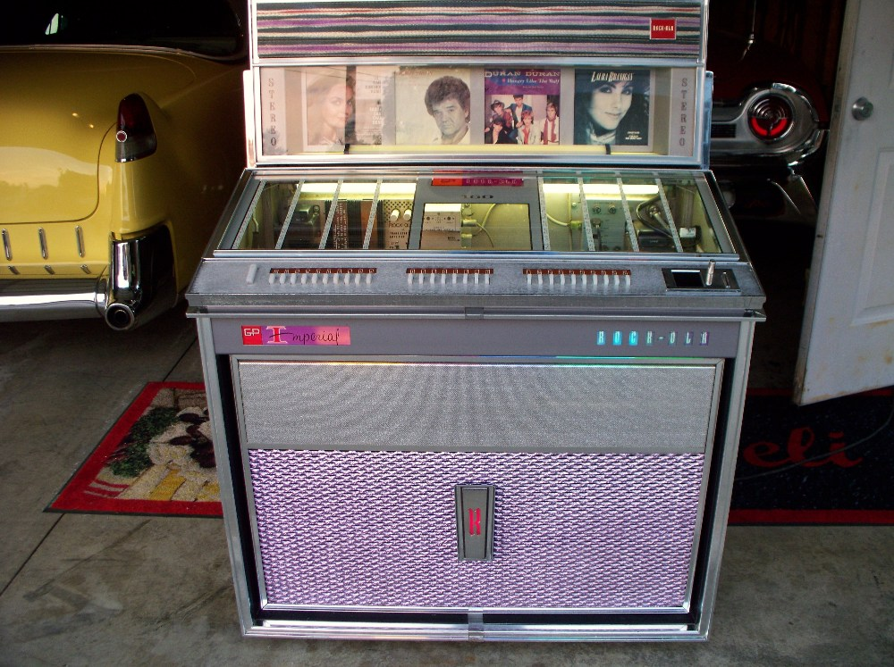Rockola model 433 jukebox restoration