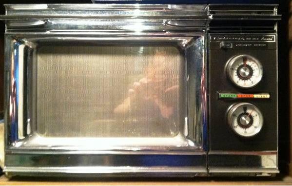 Vintage Amana Radarange Microwave Oven 450 Bay City Mi